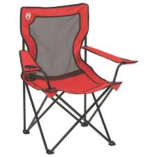 Mesh Patio Chair Amazon Com Coleman Broadband Mesh Quad Chair Camping Chairs