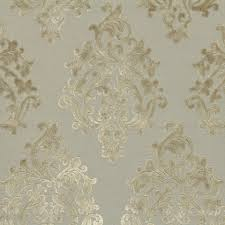 Furniture Upholstery Fabric by Silver Grey Damask Velvet Fabric For Furniture Upholstery