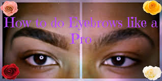 how to do eyebrows like a pro youtube