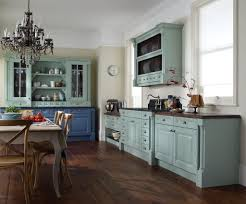 kitchen country sea blue kitchen cabinet ideas with gray