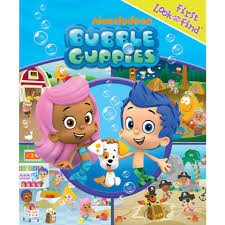 bubble guppies first look and find book toys