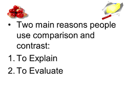 Compare and Contrast Essay For Pre AP World Geography    ppt download SlidePlayer When you compare items  look for their similarities    For example  Apples and oranges