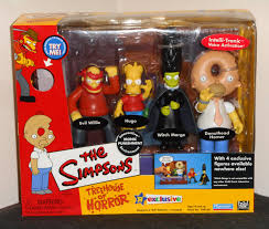 the simpsons halloween of horror for sale simpsons thoh 3 ironic punishment playset treehouse of