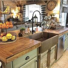 Farmhouse Kitchens Designs Best 25 Rustic Kitchens Ideas On Pinterest Rustic Kitchen