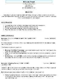 objective in resume examples awesome sample bartender resume to use as template
