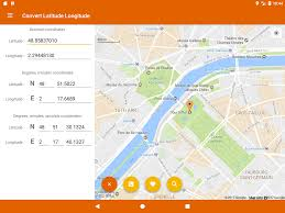 Latitude Map Latitude Longitude Convert Android Apps On Google Play