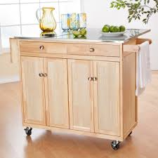 Kitchen Carts On Wheels by Kitchen 27 White Kitchen With Dark Portable Kitchen Island On