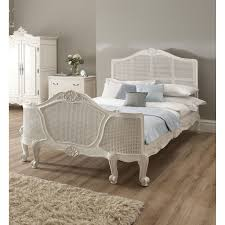 Decorating With White Bedroom Furniture White Wicker Bedroom Furniture Design Ideas And Decor