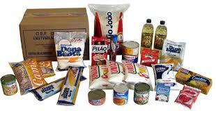 Reeducação alimentar com produtos da cesta básica