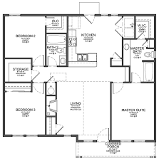 home design best 3 bedroom house floor plan for affordable 1100