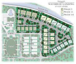 overall site plan waterway landing