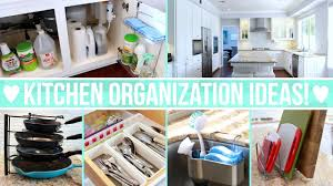 Cheap Kitchen Organization Ideas Kitchen Organization Ideas Youtube