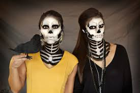 Skeleton Makeup For Halloween by Halloween Lookbook Generation Bliss