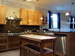 Slate Kitchen Backsplash Kitchen Cabinet White Cabinets With Lapidus Granite Nob Hill