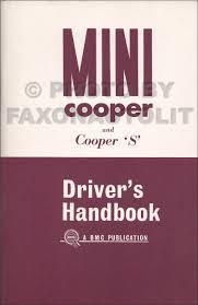 1970 1971 mini cooper s mark iii owner u0027s manual reprint