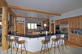 Iron Kitchen Island by L Shape Kitchen Decoration Using Rustic Black Wrought Iron Wood