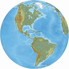 Political Map Of South America North And South America Political Map And Globe