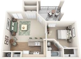 Single Bedroom Apartment Floor Plans by One Two Three And Four Bedroom Apartments In Round Rock