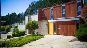 Eichler Homes Floor Plans Diamond Heights Eichler San Francisco Eichlers Mid Century Modern