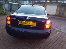 2002 volkswagen passat 1 9 tdi pd sport 4dr manual 07445775115