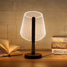 compare prices on diy bedside table online shopping buy low price adjustable 3d wooden stand lamp night light bedside table desk lamp plug connector home decor lighting