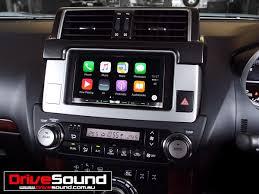 gia xe lexus sc430 toyota prado kakadu with apple carplay installed by drivesound