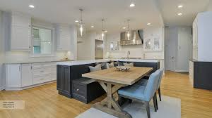 Kitchen Island Electrical Outlet Mdf Manchester Door Chocolate Pear Kitchen Island With Bench