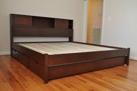 King Size Floating Platform Bed Plans by Floating Platform Bed Drawers Platform Bed Drawers In Modern