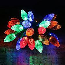 amazon com commercial grade outdoor led decorative string