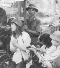 Hanoi Jane flirts with a North