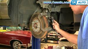 how to install replace brakes on a cadillac deville 96 99 1aauto