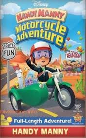 Manny a la obra: Aventuras de motocicleta (2009)