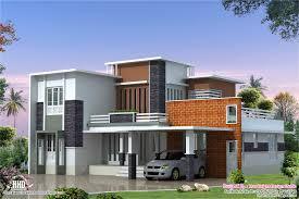 feet modern contemporary villa kerala home design floor plans