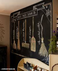 Blackboard Paint For Walls Hocus Pocus Broom Co Inspired By Charm