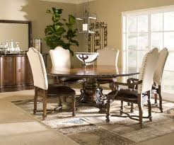 Beautiful Chairs by Big Glass Window Fit To Upholstered Dining Chairs With Round Table