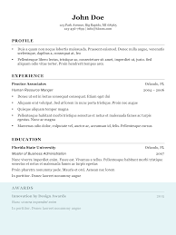 Resume Sample For Human Resource Position by Resume Format Human Resource Manager Profile Experience