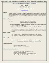 Free Job Resume Template  post my job for free my job resume