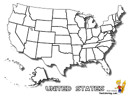 Map Of America With States by Printable Coloring Pages United States Map Russia Map Quiz Map Us