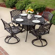 Black Wrought Iron Patio Furniture Sets by Exterior Cozy Stone Flooring With Black Wrought Iron Lowes Patio