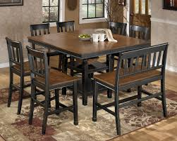 Ashley Furniture Dining Room Chairs Emejing Dining Room Tables That Seat 8 Ideas Rugoingmyway Us