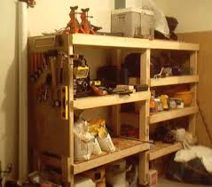 Simple Free Standing Shelf Plans by Woodwork Plans For Simple Garage Wooden Shelves Pdf Plans