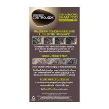 Shampoo For Black Colored Hair Amazon Com Just For Men Control Gx Grey Reducing Shampoo 5