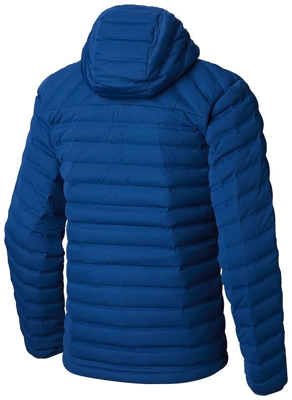 Mountain Hardwear Stretchdown Hooded Outdoor Jacket Nightfall Blue 2XL 1855761448-XXL