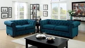 tufted sofa stanford blue tufted sofa
