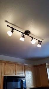 Track Lighting For Kitchens by Kitchen Likable Track Lighting Above Kitchen Island For Light