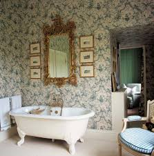 bathroom dim lighting of french country bathroom with
