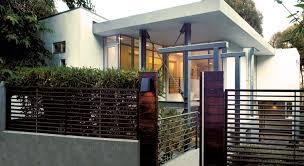 contemporary house plan modern newest fence design plans ideas kb
