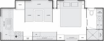 Caravan Floor Plan Layouts Universal Caravans Hollywood Chapman Caravans