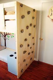 jungle gym loft bed diy toddler bed with rock climbing wall