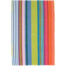 Multicolor Rug Mellie Stripe Woven Cotton Rug Dash U0026 Albert